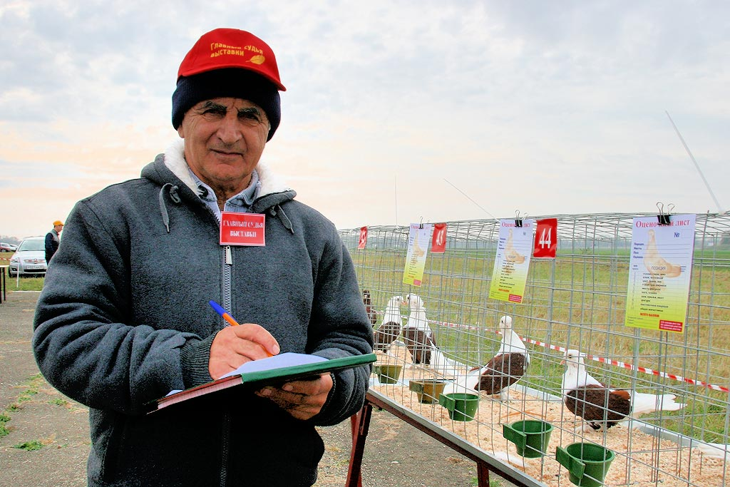 эксперт по породе Краснодарские бойные Григорий Степиди