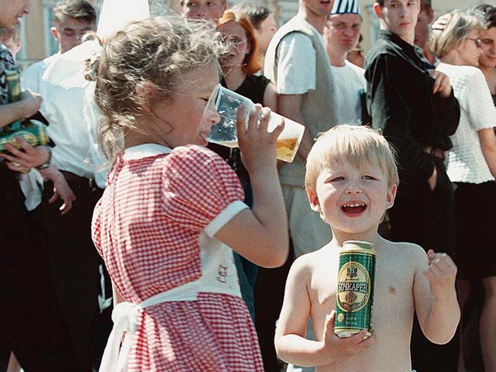 Детского алкоголизма в украине